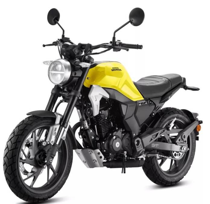 Honda CB190TR Kuning