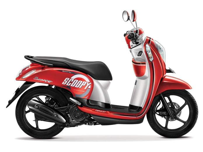 Honda Scoopy eSP 2015