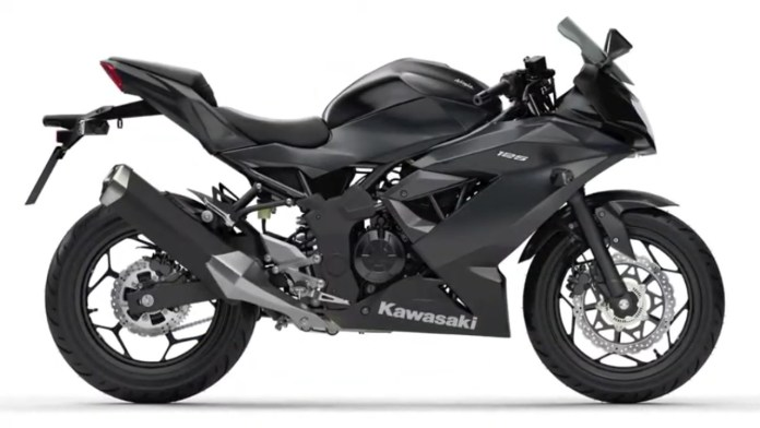 Kawasaki Ninja 125 Black Metallic