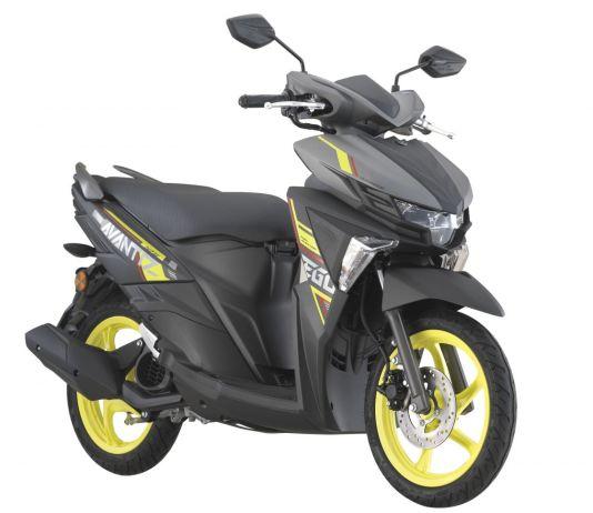 Yamaha Ego Avantiz 2020 Grey Hijau Fluo