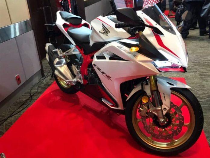 Honda CBR250RR 2020 White