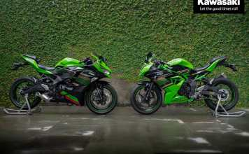 Launching Kawasaki ZX-25R 2020