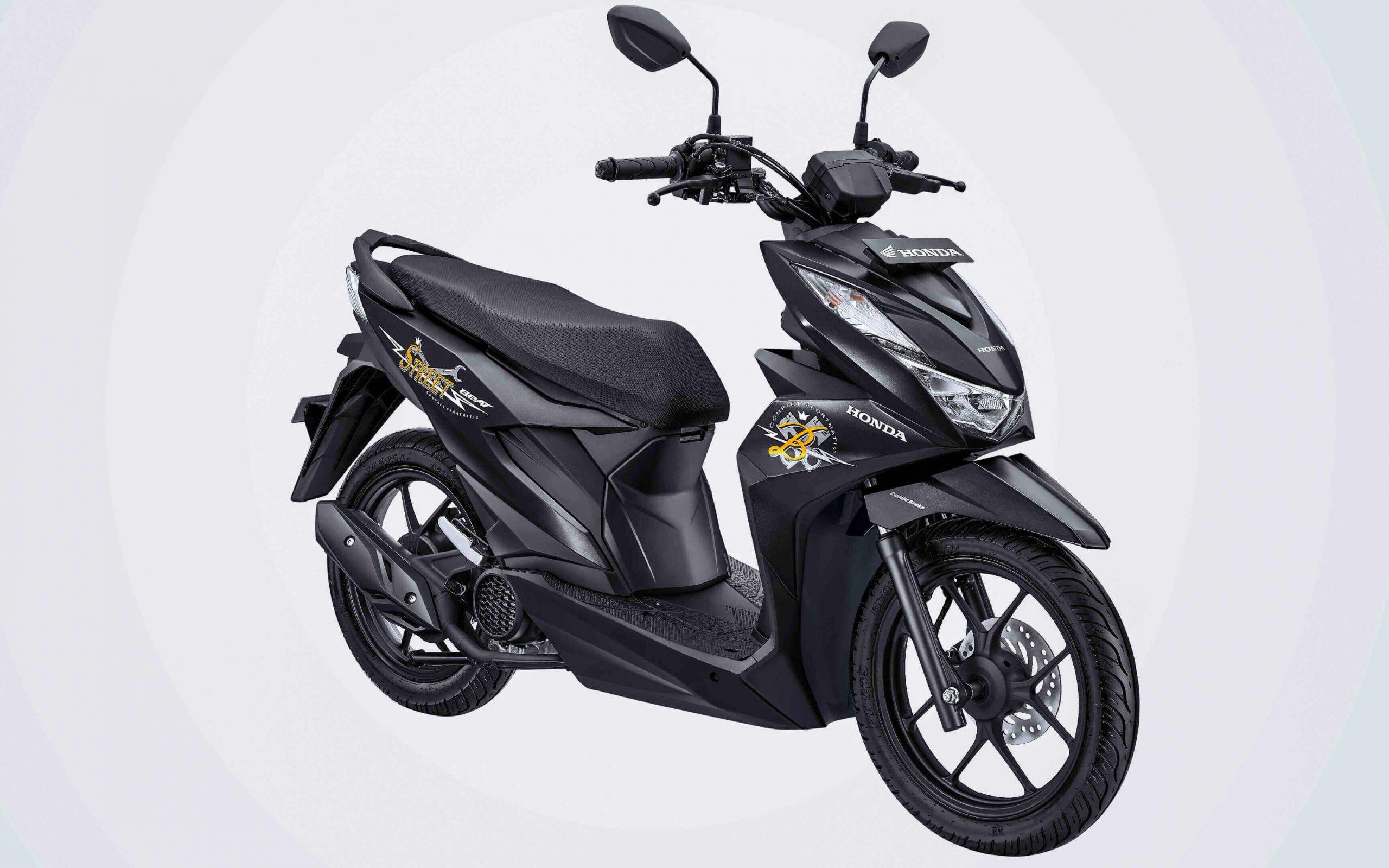 New Honda Beat Street Esp Grafis Baru Harga Sama Dengan