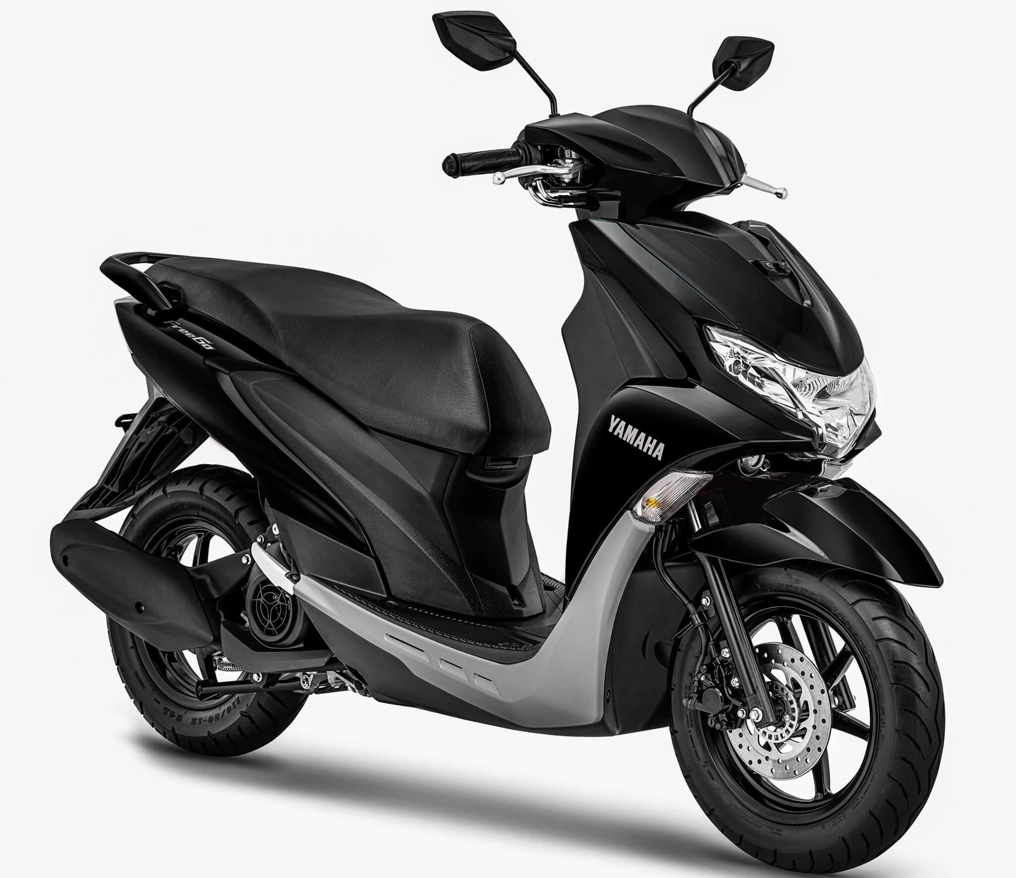 Warna Baru Yamaha FreeGo 2020 Hitam