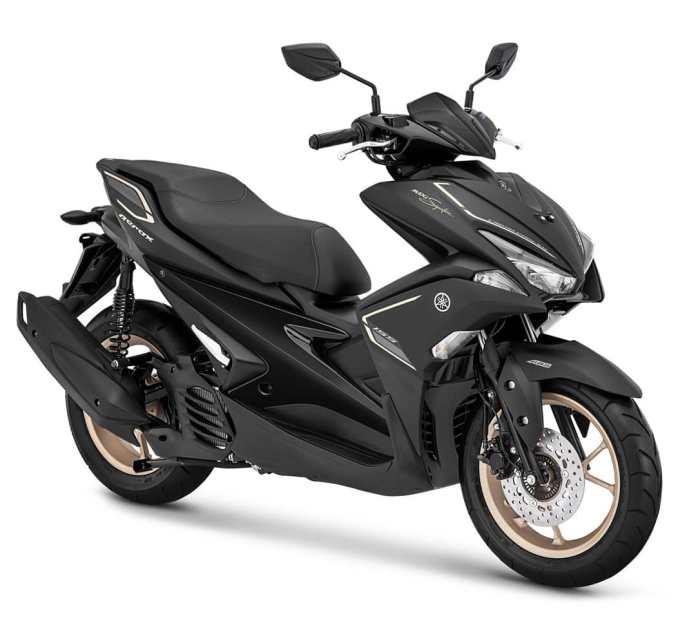 Warna Motor Aerox Matte Black