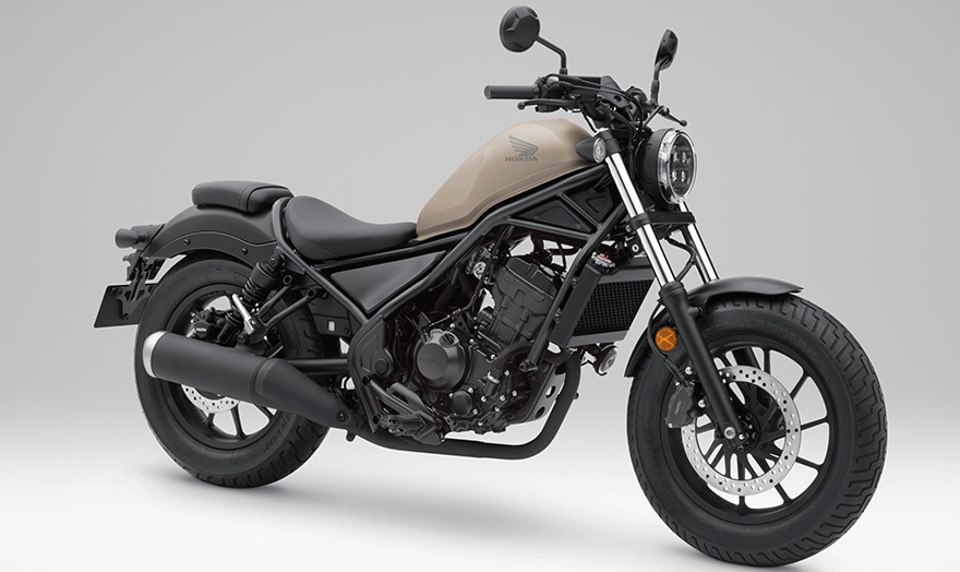 Honda Rebel 250 Matte Brown