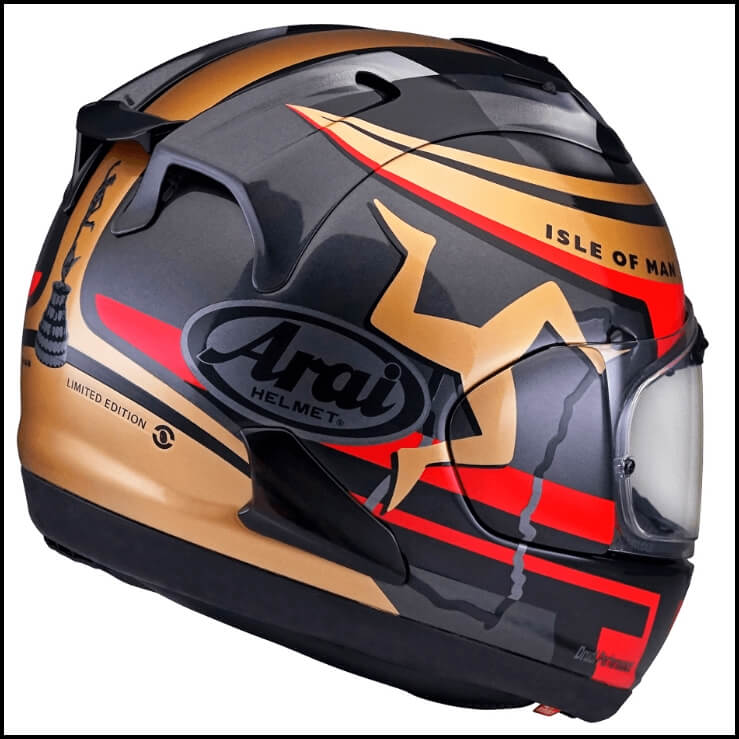 Arai RX7X Isle of Man TT 2020