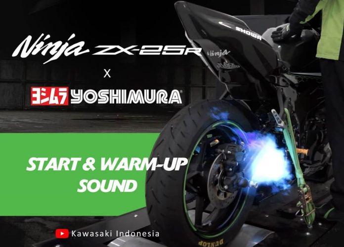 Suara Knalpot Yoshimura ZX25R