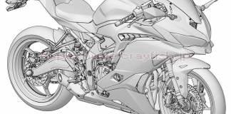 Kawasaki ZX-25R Patent Design