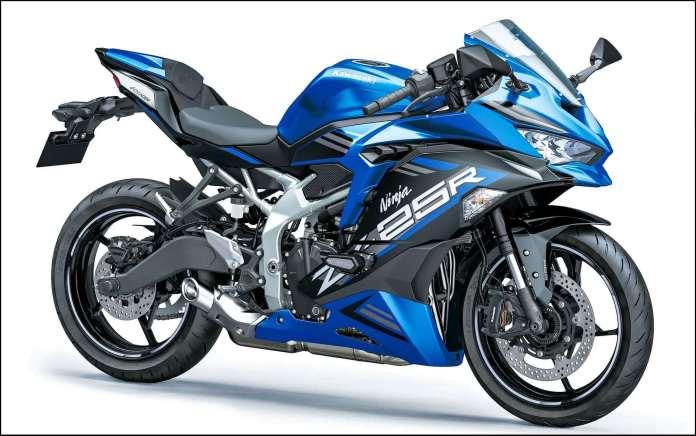 Kawasaki ZX25R Candy Plasma Blue
