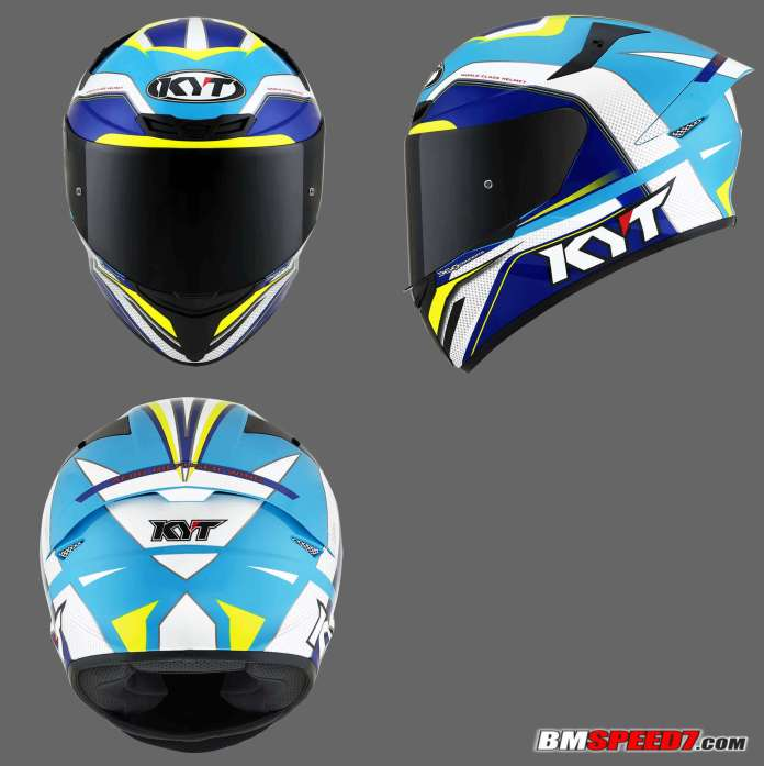 KYT TT Course Grand Prix Sky Blue