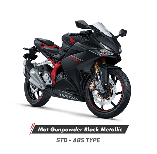 CBR250RR Mat Gunpowder Black Metallic