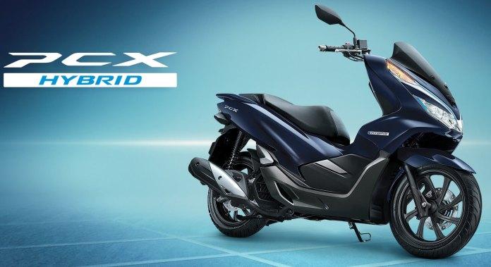Honda PCX Hybrid Blue