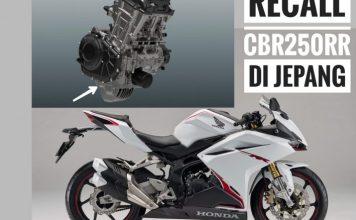 Recall CBR250RR di Jepang