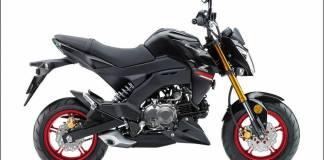 Kawasaki Z125 Pro 2021 Hitam