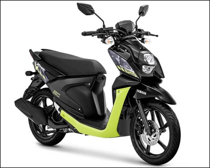 Yamaha XRide 125 2020 Extreme Black