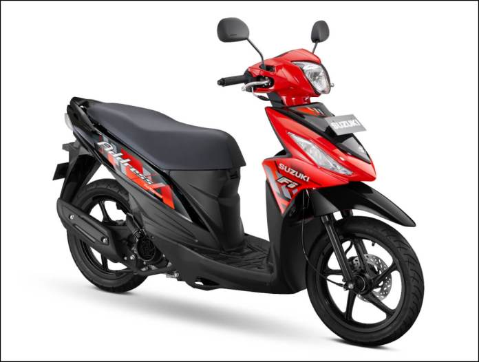 Suzuki Address 2021 Stronger Red