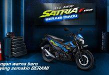 Suzuki Satria F150 2021 Biru MotoGP