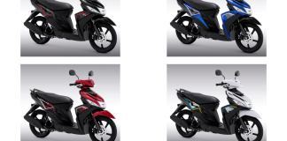 Warna Yamaha Mio M3 2021