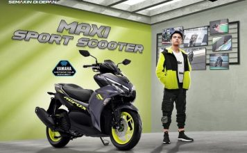 Kredit Yamaha All New Aerox 155