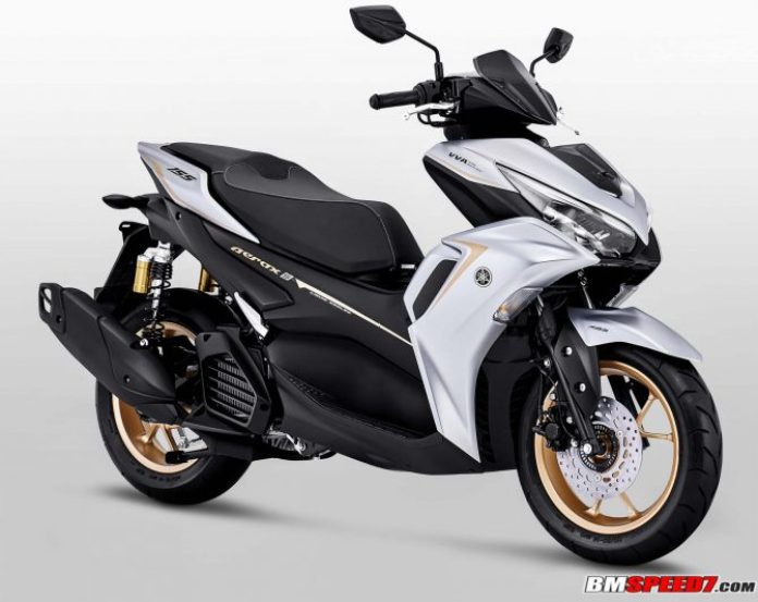 Yamaha Aerox 155 2021 ABS Silver