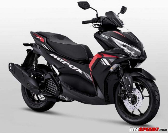 Yamaha Aerox 155 2021 Hitam