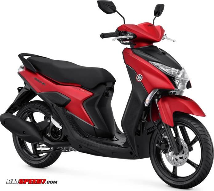 Yamaha Gear 125 S Merah