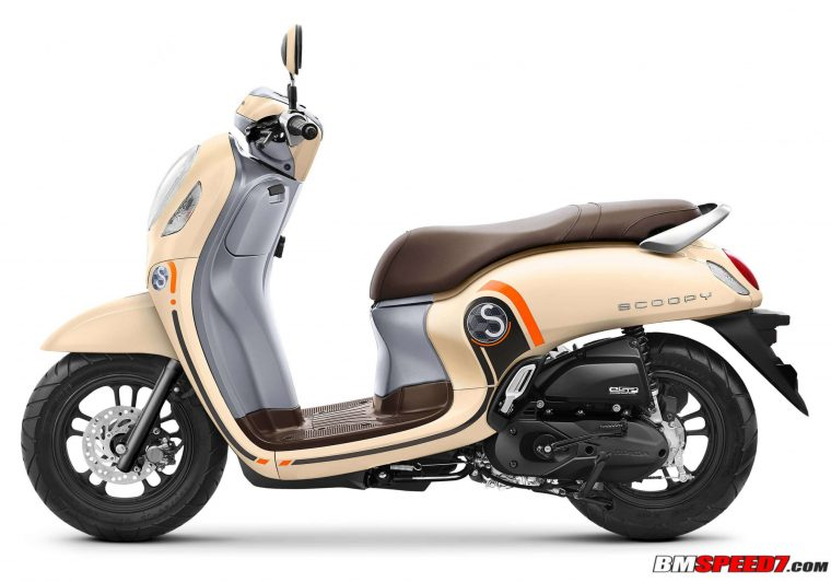 Warna Scoopy 2021 Cream
