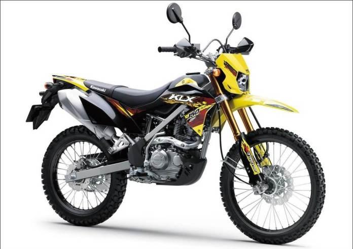 KLX 150 BF 2021 Kuning