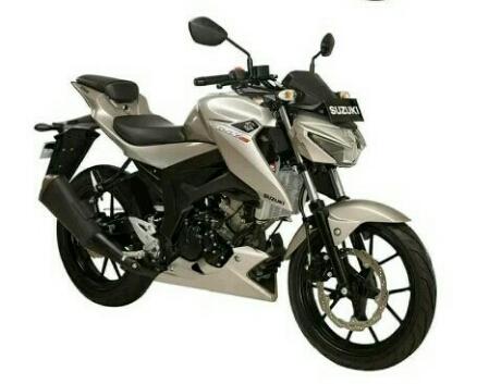 New Suzuki GSX-S150 warna silver