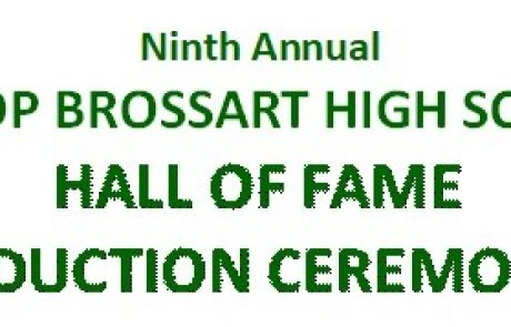 Brossart HOF Class of 2000 Now Official Members After Year and a Half Wait
