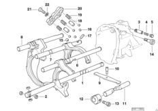 Gearbox suspension BMW E36 318tds M41, Compact, Europe