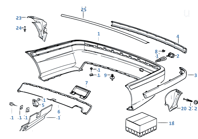 How to replace bumpers (front and rear) / bmw-e36.com