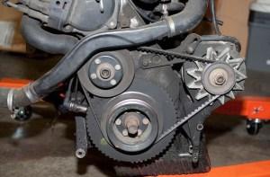 The crankshaft position sensor (CKP sensor M50)  bmwe36