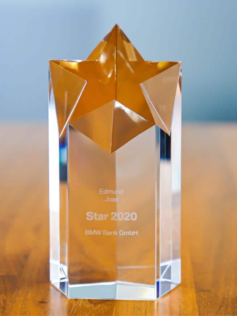 Auszeichnung BMW Star 2020