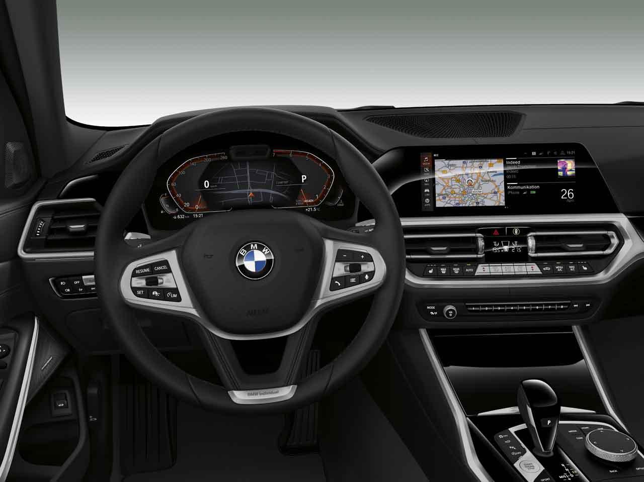 BMW 840i xDrive Cabrio innen