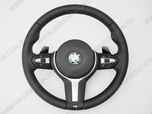 Спортивный M руль BMW 1 серия F20 с лепестками