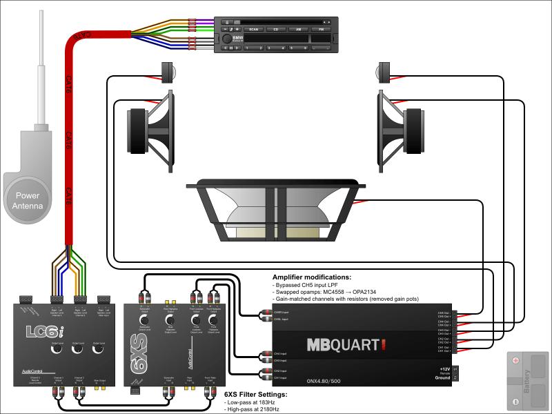 wiring diagram for car audio,