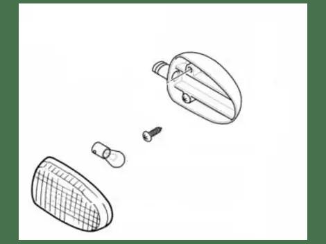 BMW Blinkleuchte graphitan Vorn Rechts oder Hinten Links