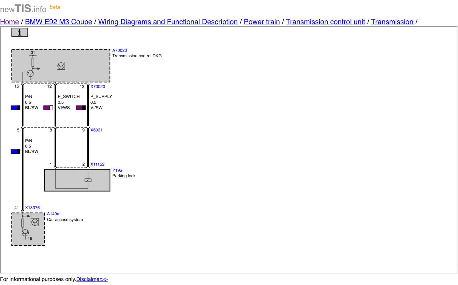 Bmw Wiring Diagram Tis