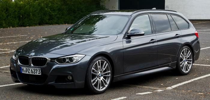 BMW_330d_Touring_M-Sportpaket_(F31)_–_Frontansicht,_5._Oktober_2013,_Münster