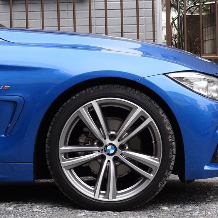 side view #bmw #f32 #msport #bimmer #bmwlove #estorilblue #bmwcoupe - [Instagram]