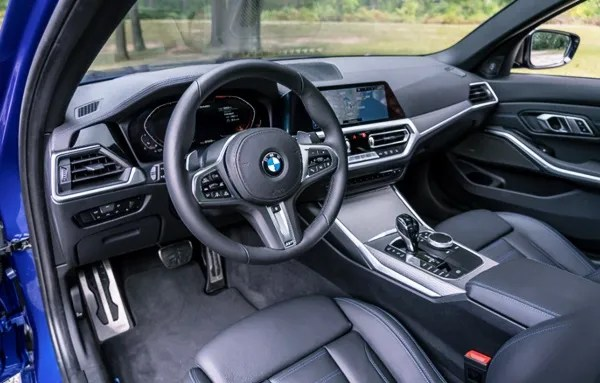 2021 BMW M340i Xdrive Interior