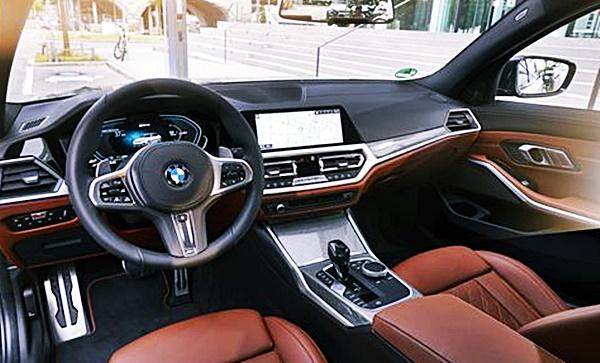 2022 BMW 335i Interior