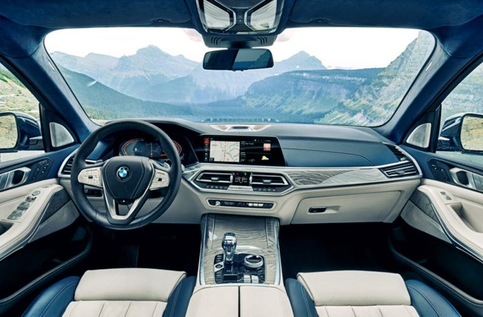 2022 BMW X7 Xdrive40i Interior