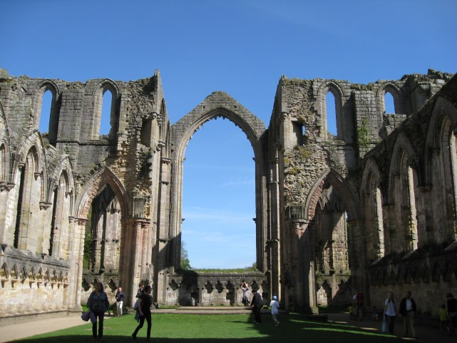 Fountains Abbey - Should they have gone to Go Compare???