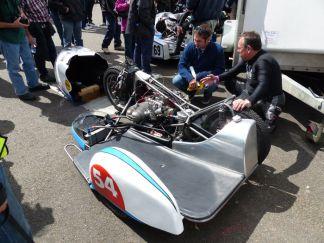 20 BMW Racing Sidecar Brackley Festival of Motorcycling 20140817
