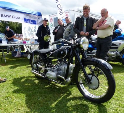 22 BMW R5 1936 Alistair Gibson Brackley Festival of Motorcycling 20140817