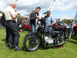 23 BMW R5 1936 Alistair Gibson Brackley Festival of Motorcycling 20140817