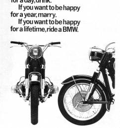 here is the famous 1965 bmw motorcycles happy for a lifetime advertisement  [ 1553 x 2085 Pixel ]